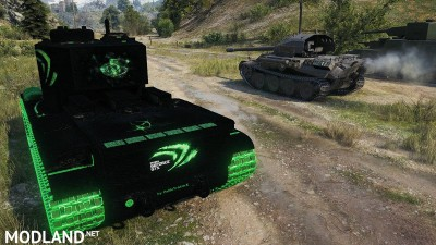 """KV-5 """"Nvidia-Style black"""" 1.1 [1.0.1.1], 4 photo"""